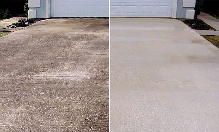 gilbert driveway cleaning
