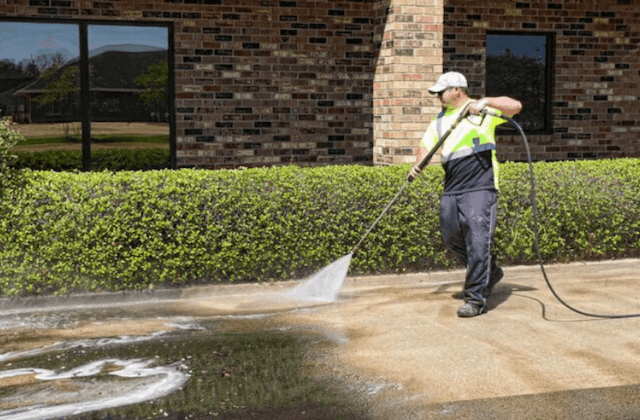 commercial concrete cleaning in gilbert